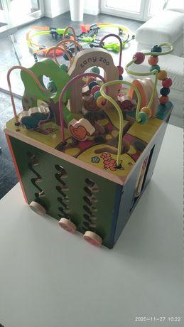 B.Toys Kostka Edukacyjna Zany Zoo nowa