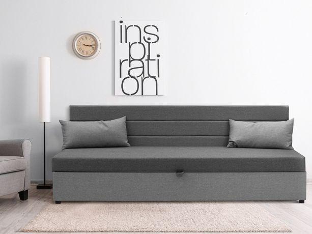 Tapczan, łóżko jednoosobowe pojemnik na pościel w cenie, szybka wysyłk
