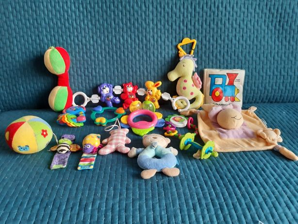 Zabawki, grzechotki, maskotki, młotek firmy fisher price!