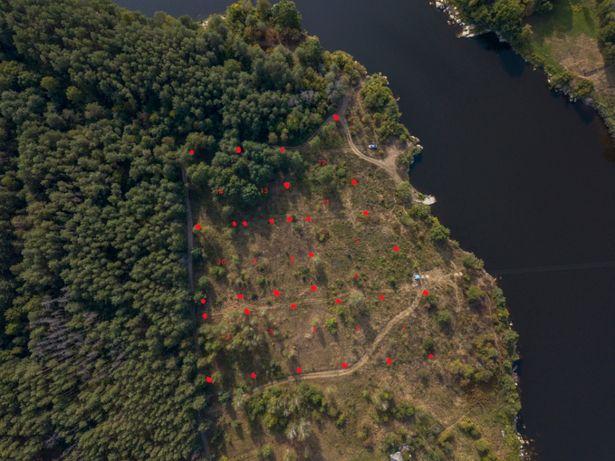 Продаж земельних ділянок з виходом до річки Тетерів. 950$ сотка
