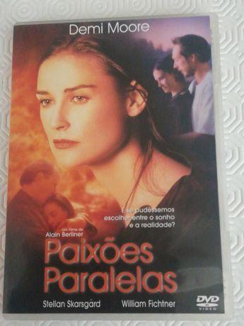 Dvd paixões paralelas com Demi Moore