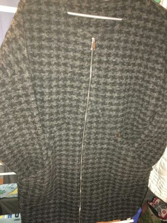 Długi sweter na zamek