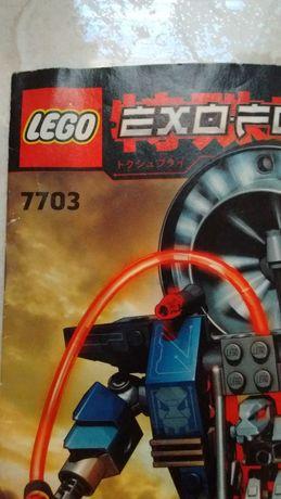 Lego 7703 Fire Vulture Exo Force Ognisty Sęp Instrukcja