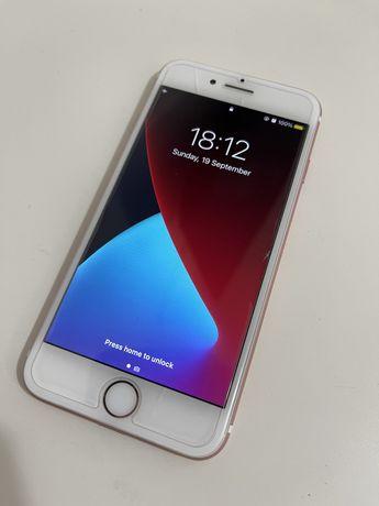 Iphone 7 gold rose 32gb novo