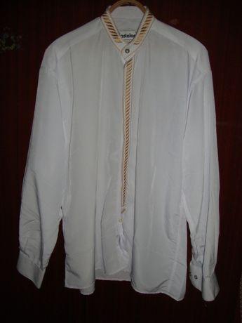 мужская белая рубашка Новая Р52
