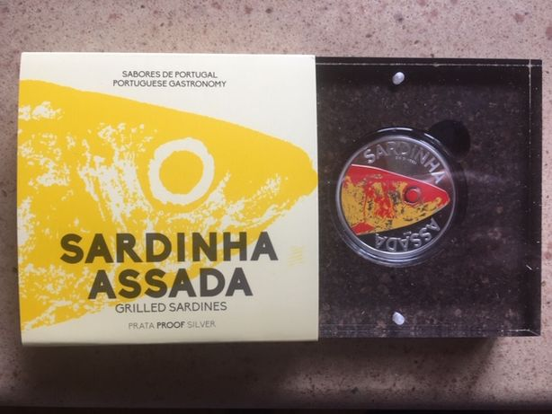 Moeda 10€ Sardinha PROOF