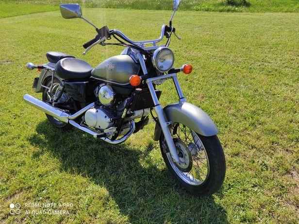 Honda shadow 125 kat B 1999 super stan niski przebieg