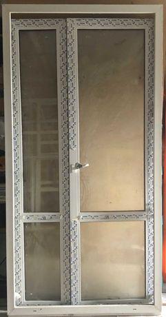 Продам металопластикові панорамні двері Glasso Б/В, 1170x2320