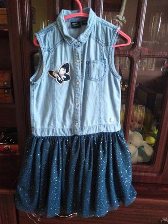 Плаття джинсове нарядне