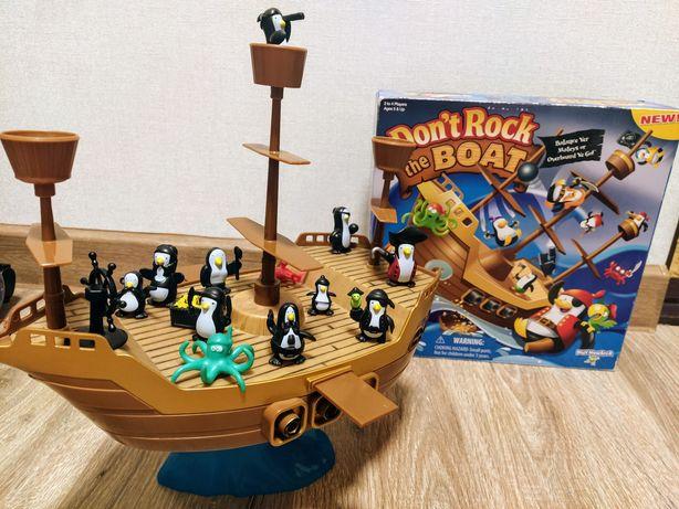 Пингвины равновесие на корабле настольная игра
