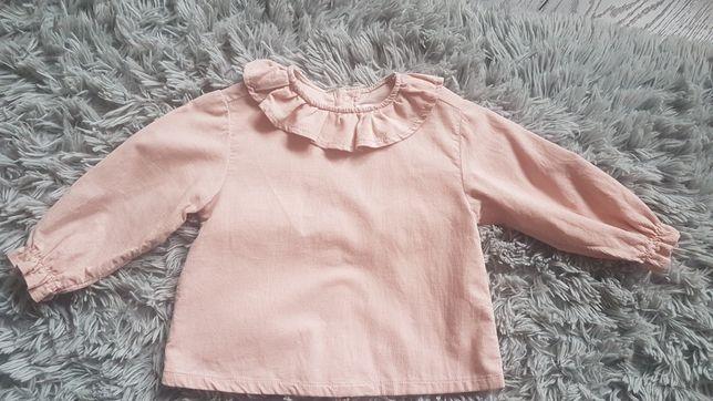 Koszula sztruksowa Zara rozm 80