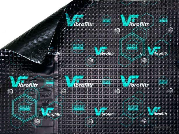 Wytłumienie,maty Vibrafiltr 1,5 PRO wyciszenie samochodu, Bas Audio