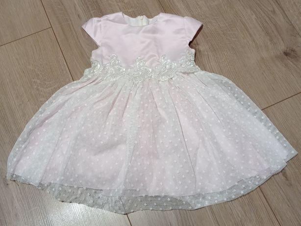 Śliczna sukienka dla dziewczynki 92
