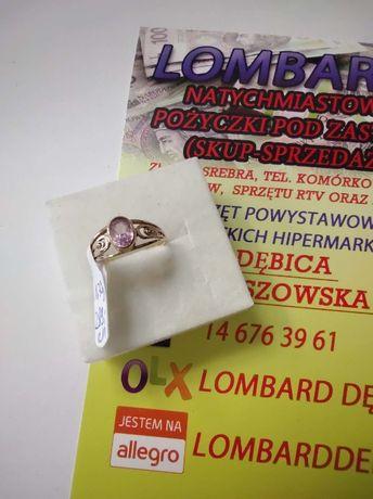 Złoty pierścionek PR.585 Waga 1,70g r.11 ! Lombard Dębica