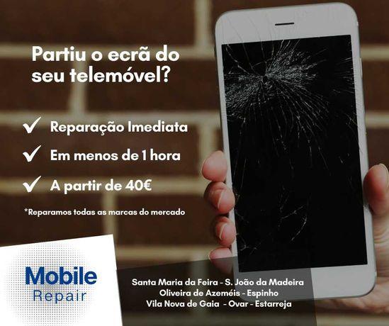 Reparação Ecrãs Telemóvel - todos os modelos