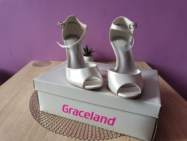Buty damskie białe Graceland rozmiar 36