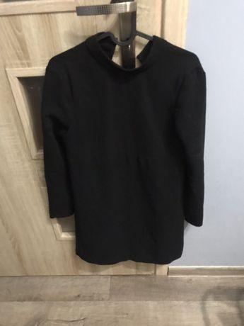 ZARA elegancka, czarna sukienka, wysylka gratis