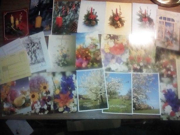 Pocztówki świąteczne sprzed lat