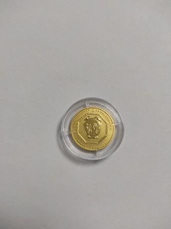 Золотая монета 5грн 2015 Архистратиг Михаил/Архістратиг Михаїл 7,78