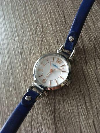 Наручные часы FOSSIL ES4001 (Georgia Mini Indigo-Dyed Leather Watch)