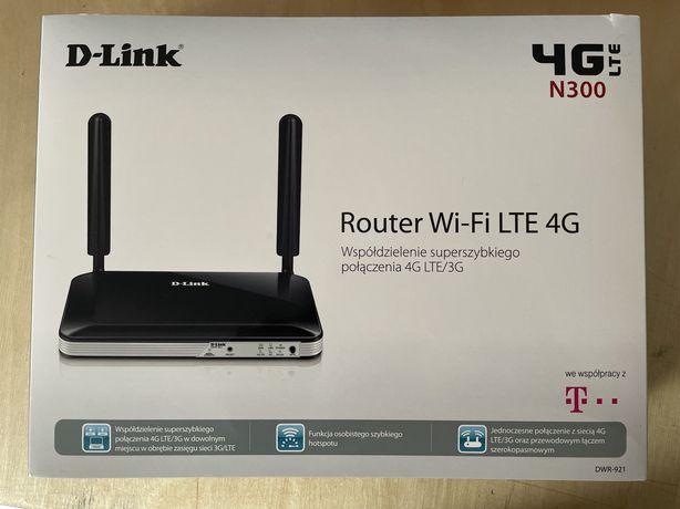 Router 4g/LTE D-LINK DWR-921 Stan idealny