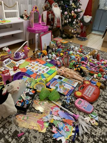 Пакет игрушек для девочки