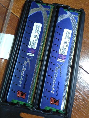 Память HyperX 4 GB (2x2GB) DDR3 1600 MHz (KHX1600C9D3K2/4GX)