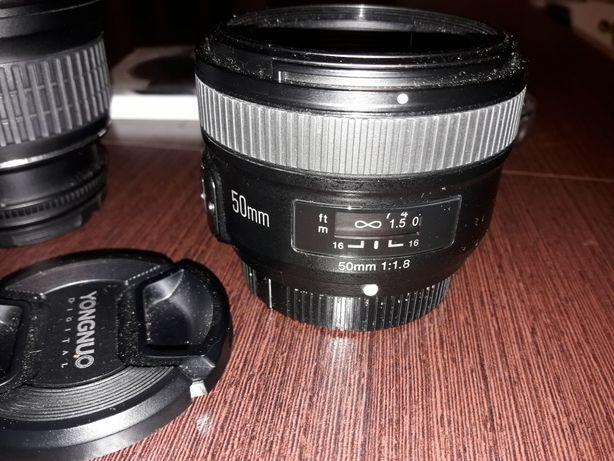 Obiektyw Youngnuo 50mm F/1.8 Nikon stan bdb +