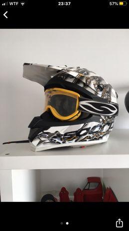 Capacete motocross scorpion