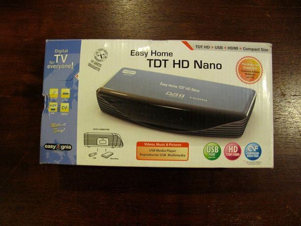 Receptor Easygnia Easy Home TDT HD Nano