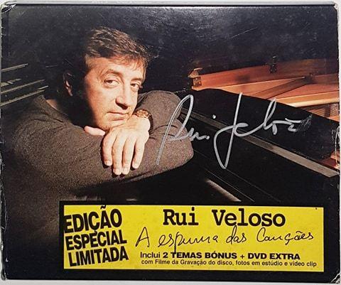 Rui Veloso A Espuma Das Canções - Edição Limitada - AUTOGRAFADA