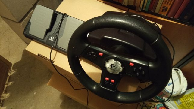 Logitech Kierownica Formula Vibration Feedback Wheel