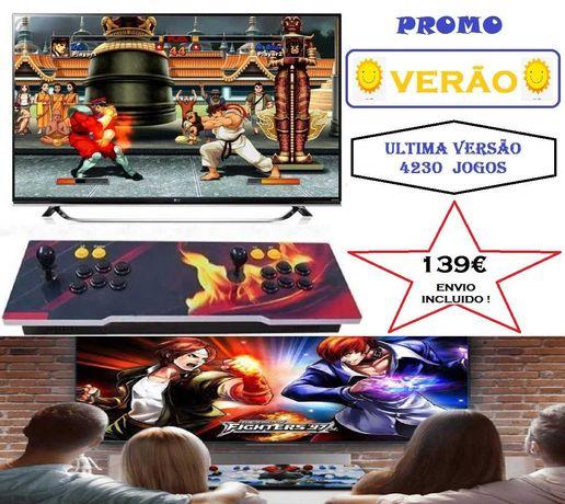 Consola Jogos Arcade Pandora 4080+150 3D*PORTES INCLUIDOS*LER ANUNCIO