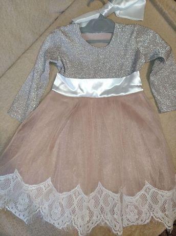 Плаття для дівчинки на перший день народження.