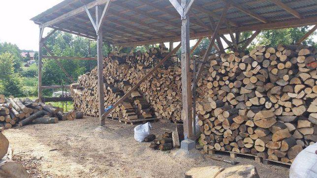 Drewno kominkowe, opałowe Skawina, Niepołomice, Wieliczka - sezonowane