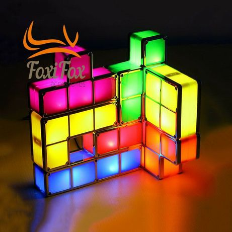 Светильник ночник лампа Тетрис Tetris