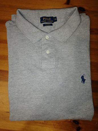 Polo Ralph Lauren męska  szara custom fit XXL