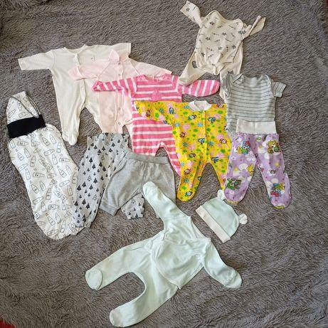 Детские вещи, детская одежда, для девочки 0-3 мес, европейская пелёнка