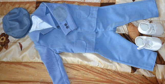 garnitur do chrztu ARTEX dla chłopca r. 68