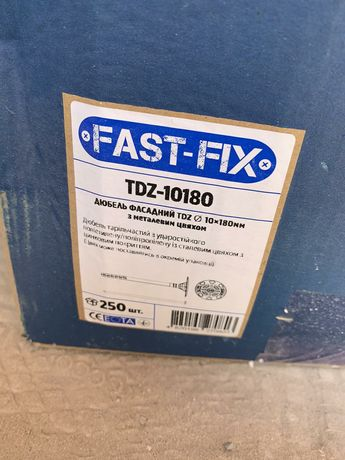 Дюбель фасадный fast-fix tdz-10180
