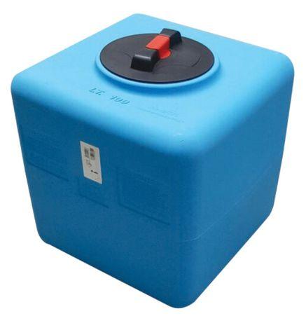 pojemnik sześcienny 100 litrów do wody pitnej do kampera
