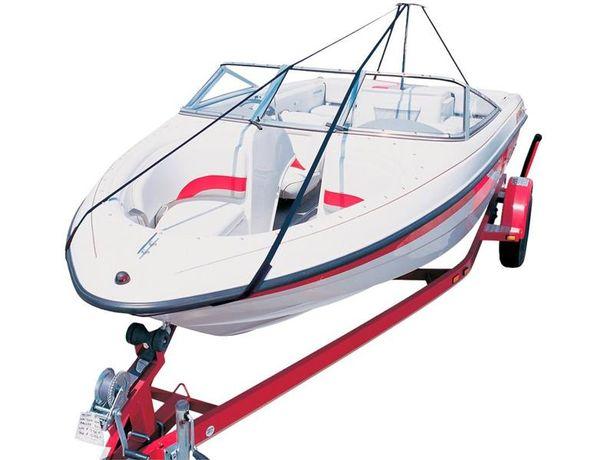 Podpora plandeki • Pokrowiec na łódź / Regulowana długość i wysokość