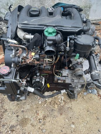 Мотор двигун двигатель пежо джампи скудо берлинго двс дв8 Dw8