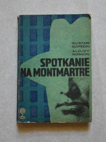 Spotkanie na Montmartre (szpiegowska, sensacja) - zestaw książek