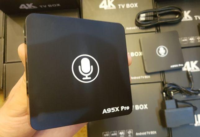 ≻SmartTV Nexbox A95X Pro Android Mi Box СмартТВ Приставка Андроид бок