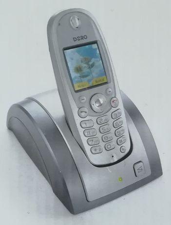 Telefon stacjonarny bezprzewodowy Doro model 850 kolorowy LCD