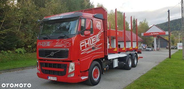 Volvo FH13 500ps Euro5 6x4 DO DREWNA
