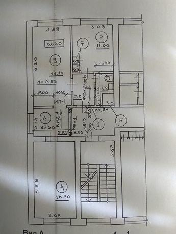 Продам 3 кімнатна квартира (+ гараж) або обмін на приватний будинок .