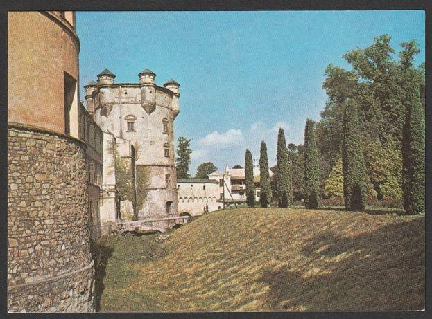 pocztówka - Krasiczyn 1972 - zamek - baszta