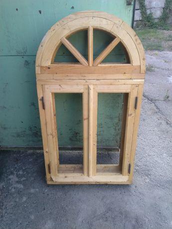 Окна деревянные новые!